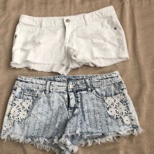 Mossimo Low Rise Shorts Bundle